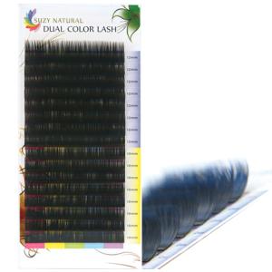 SUZY NATURAL DUAL COLOR LASH (BLACK-BLUE)