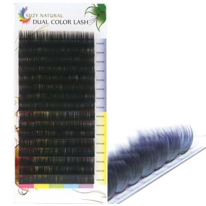 SUZY NATURAL DUAL COLOR LASH (BLACK-VIOLET)
